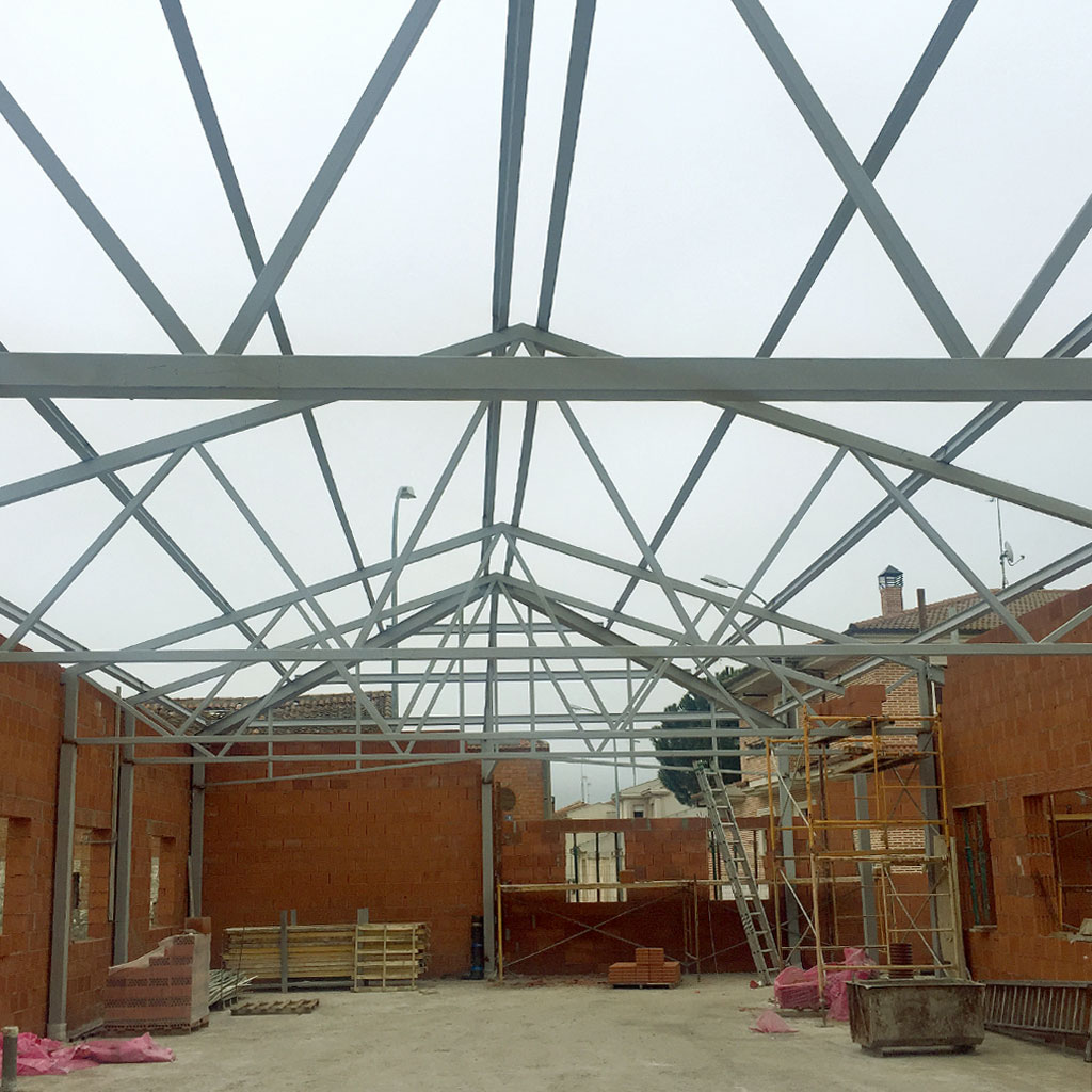 Estructuras metalicas para viviendas techos y estructuras - Estructura metalica vivienda ...