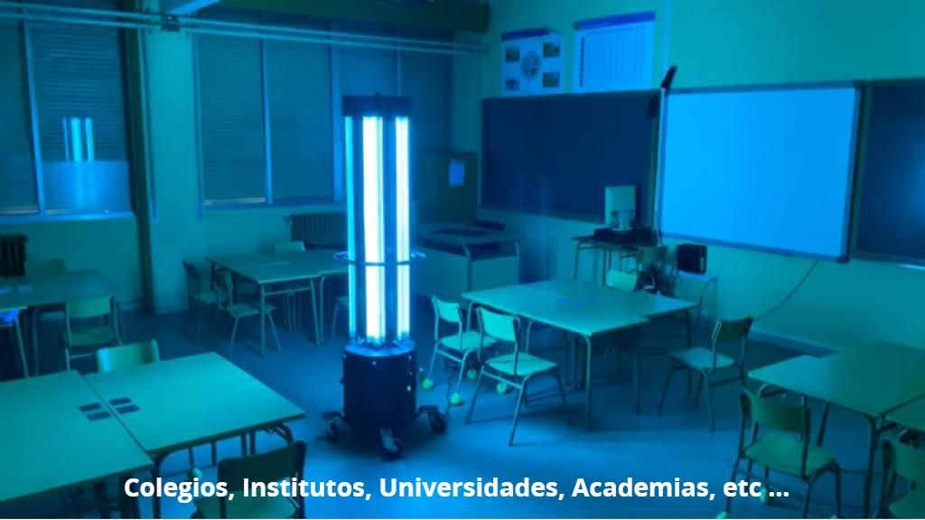 Colegios, Institutos, Universidades, Academias, etc ...